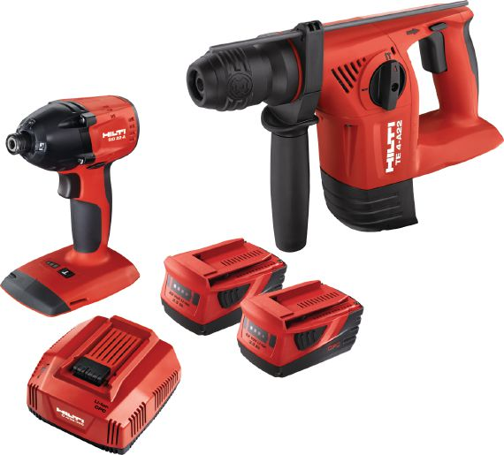 Hilti Akku-Power im Set