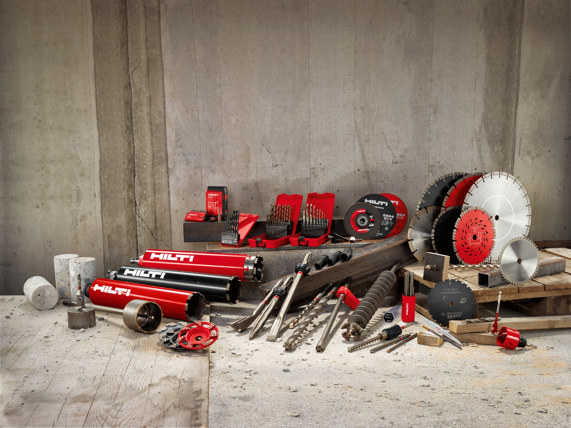Hilti offers consumables customized for your application and budget
