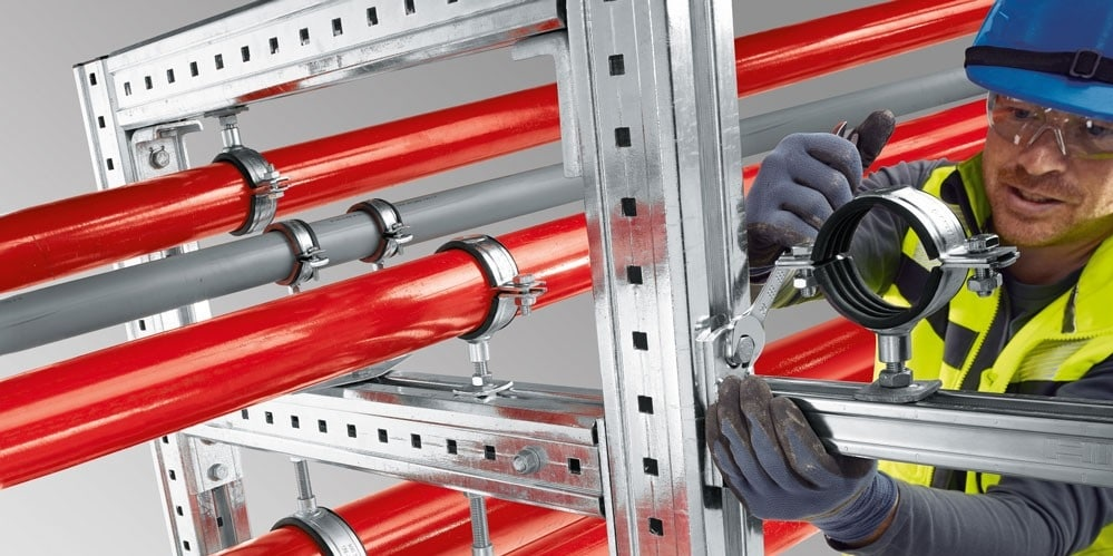 Hilti Lösung MIQ system for heavy duty applications