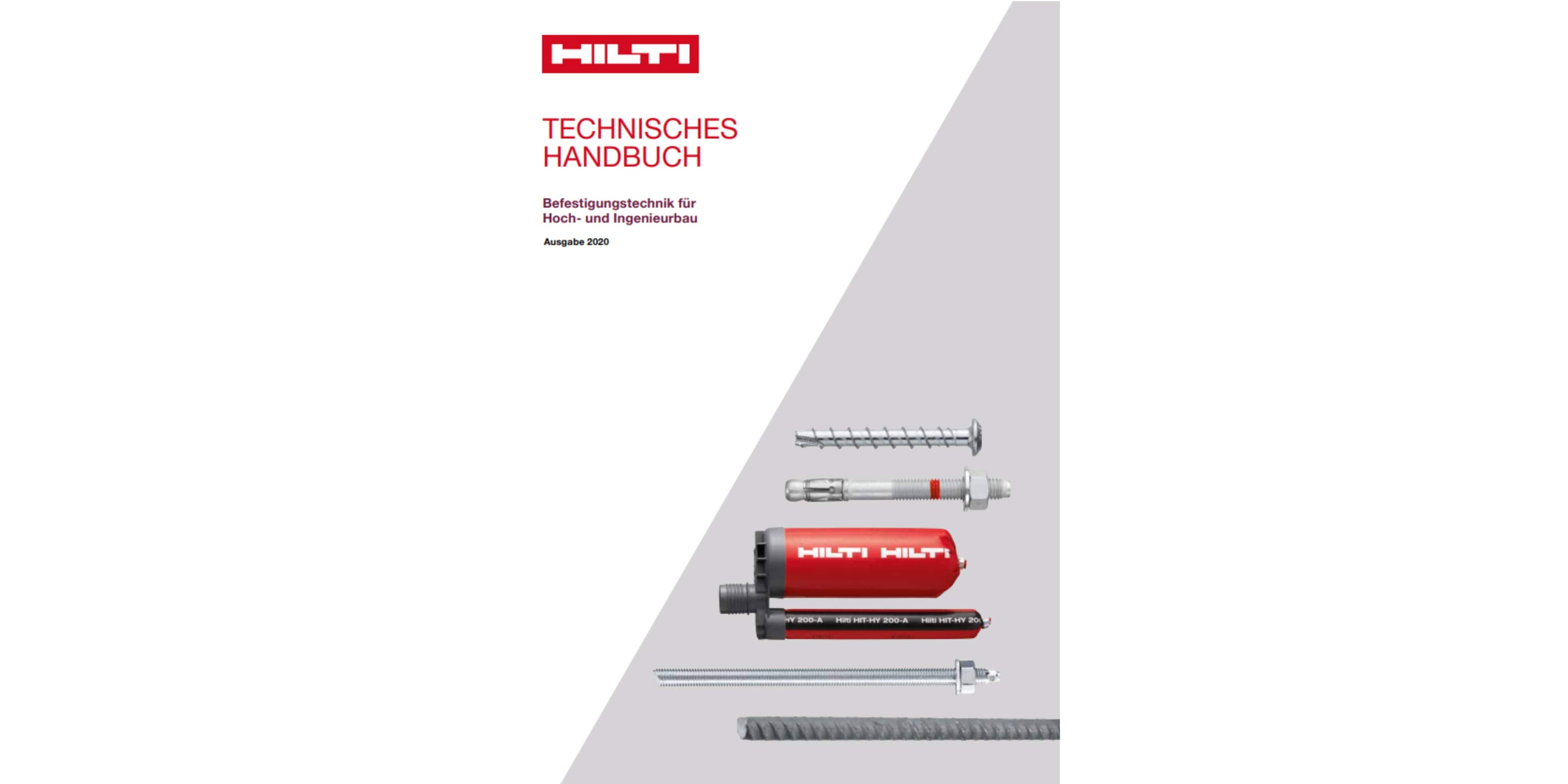 Hilti MIQ System technical data