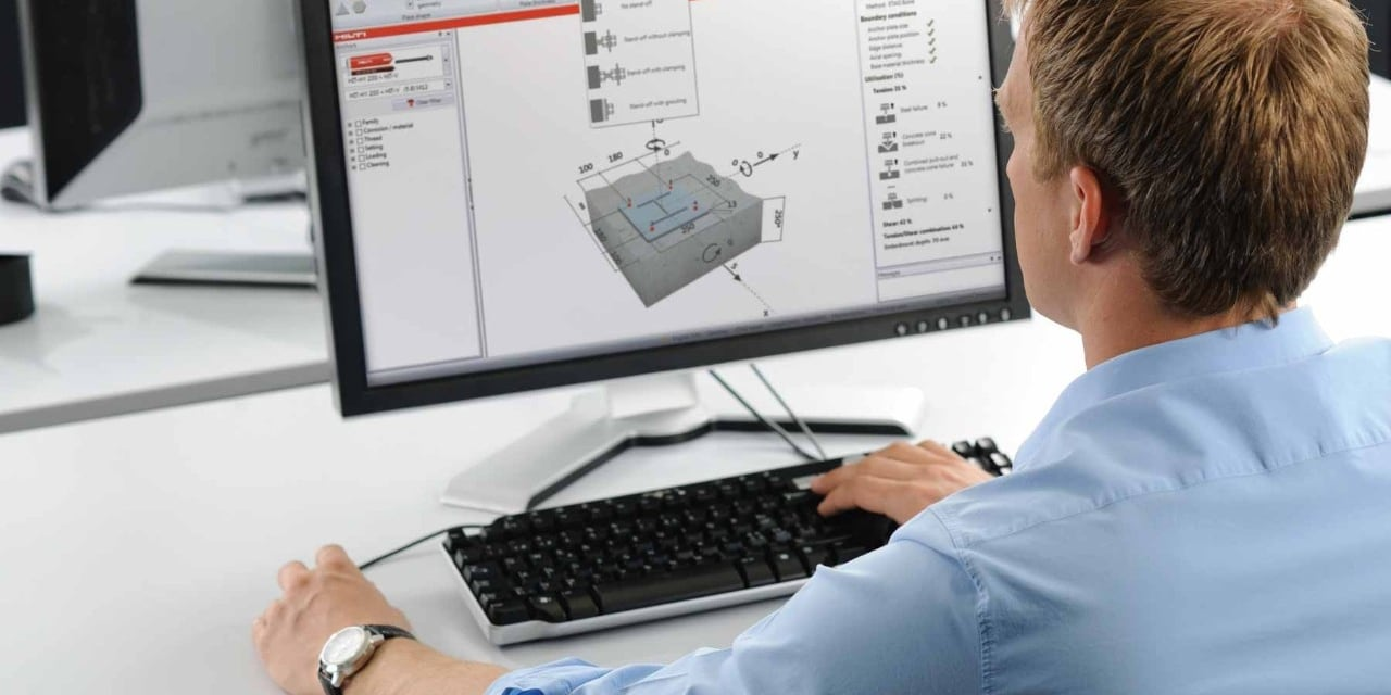 Hilti online for engineers