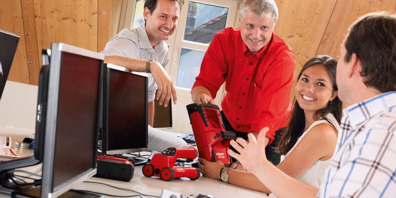 Hilti high end detection training