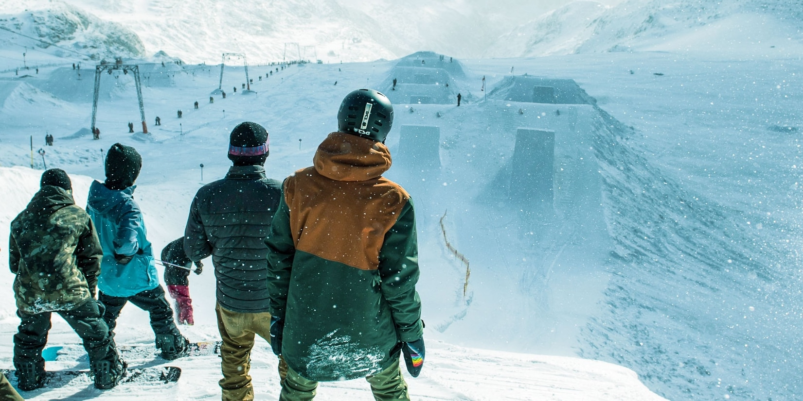 Prime Park Sessions im Freestyle Park am Stubaier Gletscher