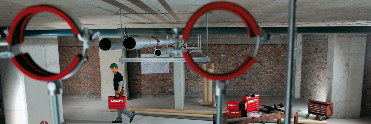 Hilti modular support systems pipe rings