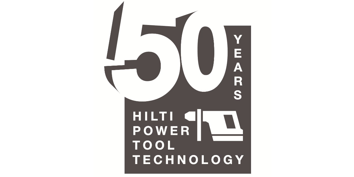 50 Years - Hilti Power Tools