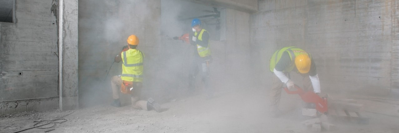 Hilti dust training