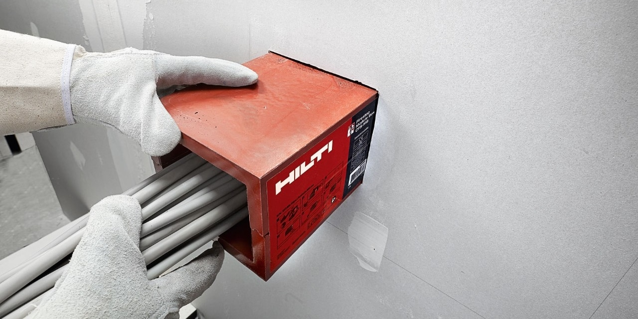 Hilti firestop data management