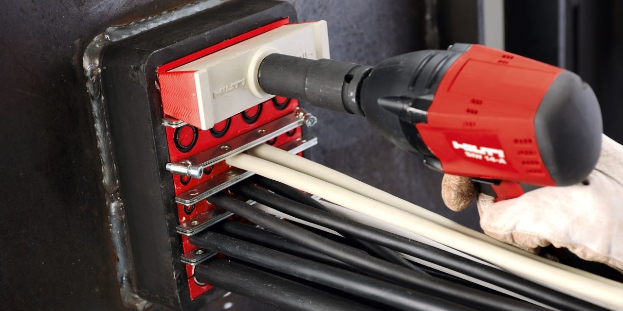 Hilti firestop for energy and industry