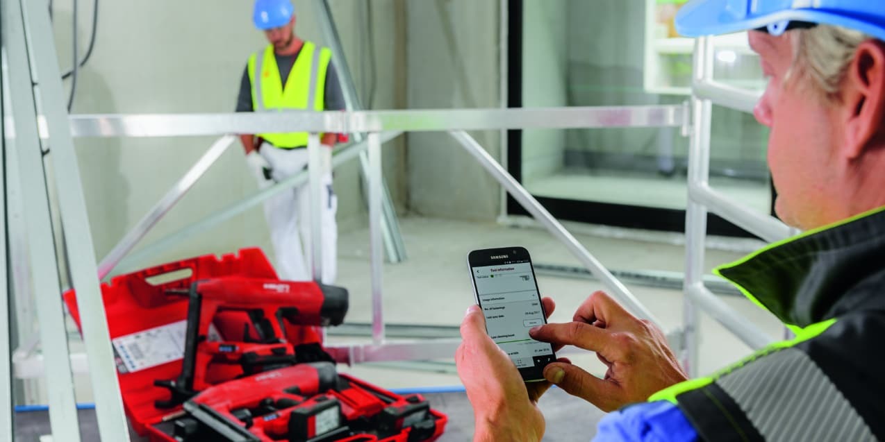 Hilti Connect App and BX 3 02